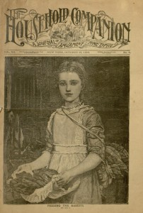 Front cover, The Household Companion : A journal of amusement and home topics, v. VII, no. 8, October 15, 1889