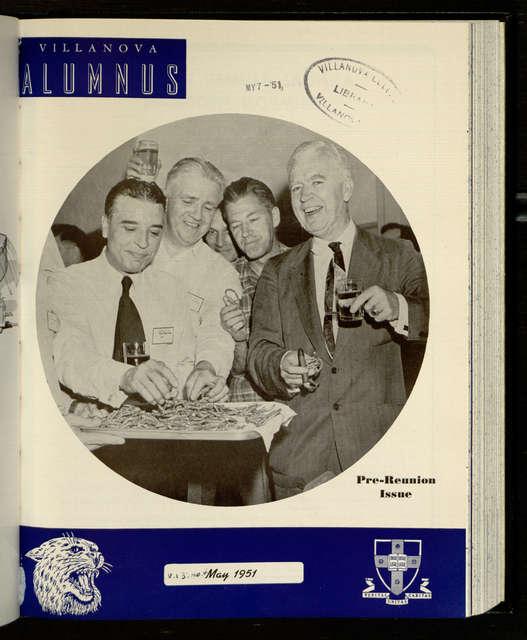 Villanova Alumnus 1951