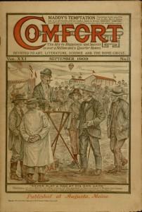 Front cover, Comfort, v. XXI, no. 11, September 1909