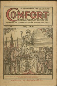 Front cover, Comfort, v. XXI, no. 7, May 1909
