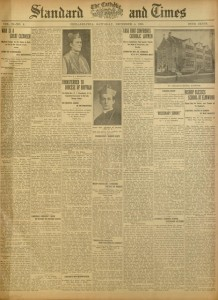 Front cover, The Catholic Standard and Times, v. 21, no. 4, Saturday, December 4, 1915