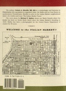 Rear cover, The Philadelphia Italian market cookbook