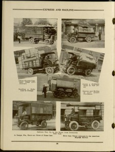 "Page 28, ""Express and Hauling"": The Autocar motor delivery cars / the Autocar Company"