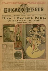 Front cover, Chicago Ledger, v. XXXVII, no. 16, Saturday, April 17, 1909