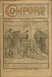 Front cover, Comfort, v. XXII, no. 2, December 1909