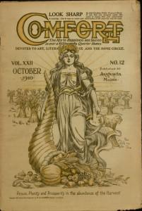 Front cover, Comfort, v. XXII, no. 12, October 1910