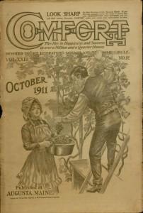 Front cover, Comfort, v. XXIII, no. 12, October 1911
