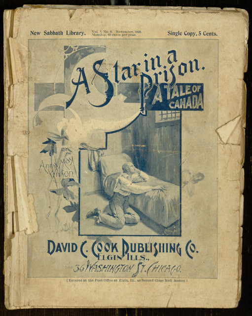 A star in a prison : a tale of Canada / by Anna May Wilson - See more at: https://blog.library.villanova.edu/digitallibrary/2015/07/02/content-roundup-first-week-july-2015/#sthash.9U4PB1zv.dpuf