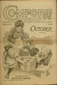 Front cover, Comfort, v. XXIV, no. 12, October 1912