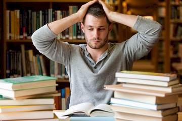 College student stressed 1