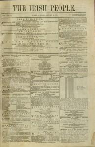 [113] p., The Irish People, v. 1, no. 8, January 16, 1864