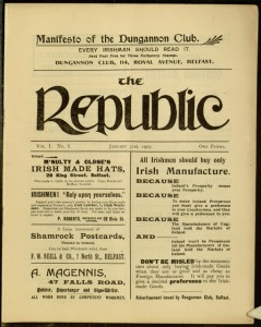 [1] p., The Republic, v. 1, no. 8, January 31, 1907