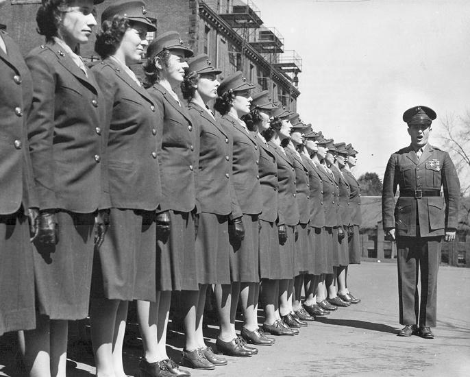 Women Marine Officer Candidates
