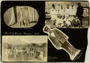 [1] p., hotograph album, Traveling theater companies and vaudeville acts in America, 1910-1921
