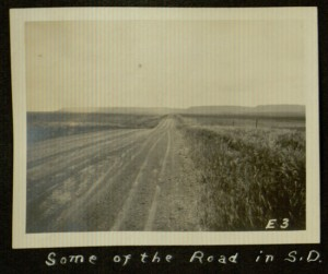 Some of the road in South Dakota, 1924