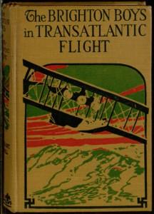Front cover, The Brighton boys in transatlantic flight