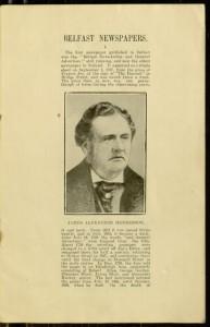 p. 1, Belfast Newspapers