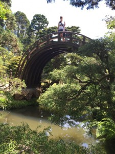 Japanese Tea Garden Bridge (San Francisco, CA), 2015