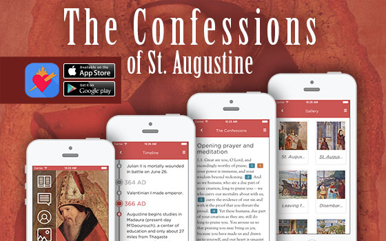 Augustine's Confessions app