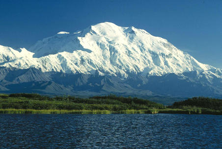 Photo via US National Park Service. Denali - Mt. McKinley.