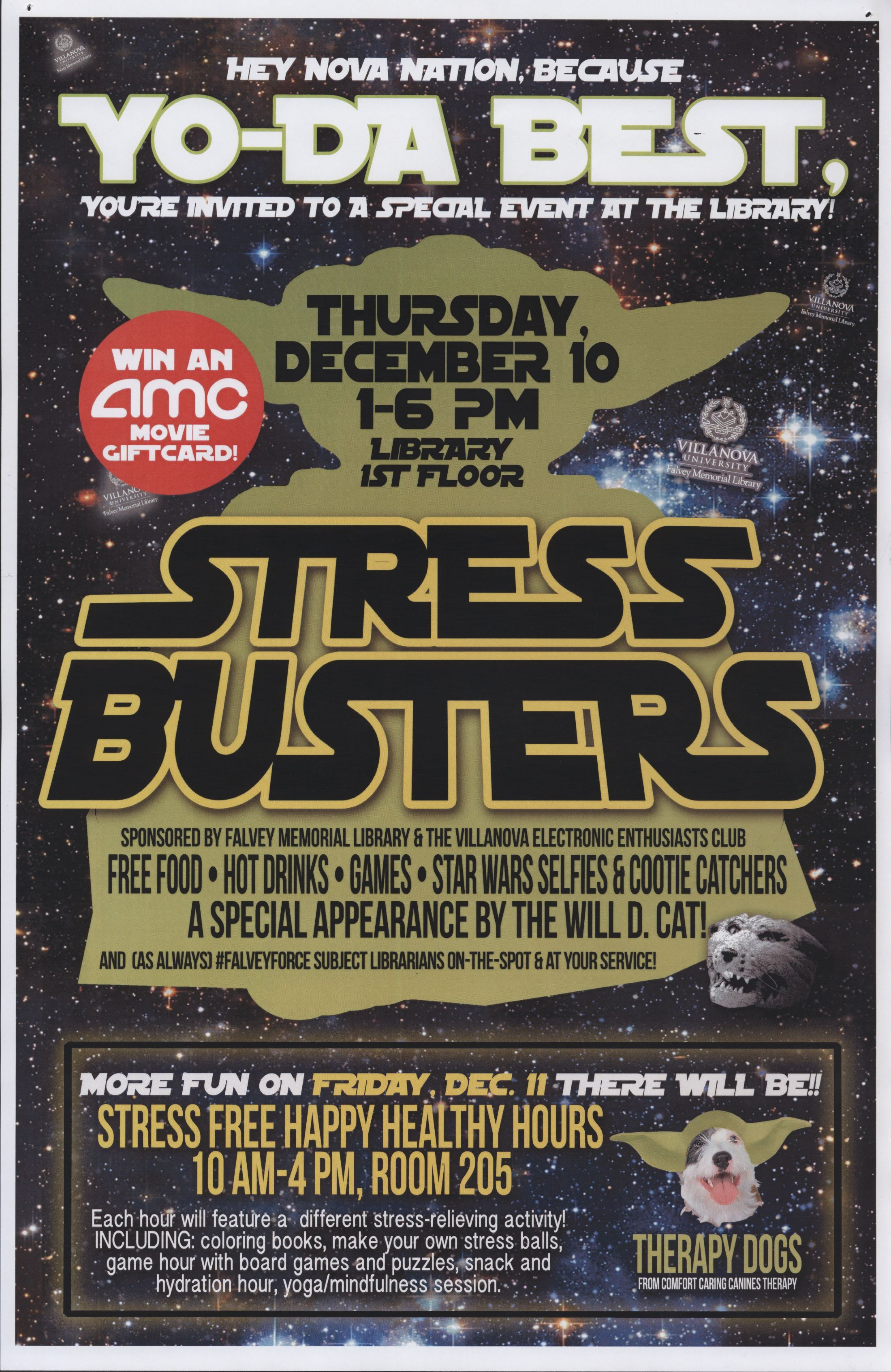 Stress buster poster