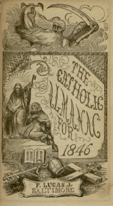[1] p., Catholic Almanac for 1846
