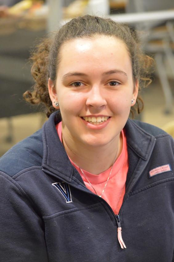 Villanova student Sarah Hannan