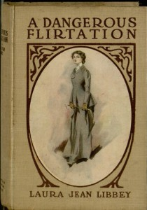 Front cover, A dangerous flirtation; or, Did Ida May sin? / by Miss Laura Jean Libbey