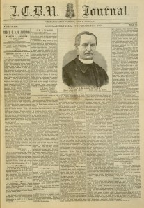 I.C.B.U. Journal, v. 19, no. 321, November 15, 1891