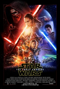 Star Wars The Force Awakens promotional poster