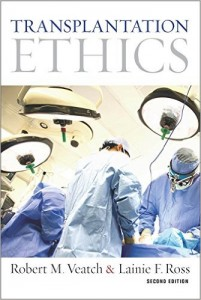 book cover Robert M. Veatch Transplantation Ethics