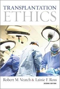 book cover Robert M. Veatch Transplantation Ethics