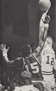 1975 Yearbook; basketball, villanova