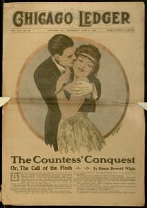 Front cover, Chicago Ledger, v. XLIV, no. 24, June 10, 1916