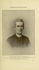 p. 240, the Rev.  John Joseph Fedigan, O.S.A,, Historical Picture Gallery. Records of the American Catholic Historical Society of Philadelphia, Volume XIX