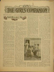 [1]p., The Girls' companion, v. XI, no. 39, September 28, 1912