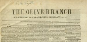 [1] p., Olive Branch, v. VIII, no. 412, May 14, 1850