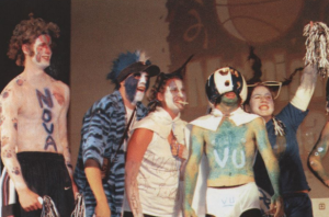 2002 yearbook, villanova pride, school spirit, students