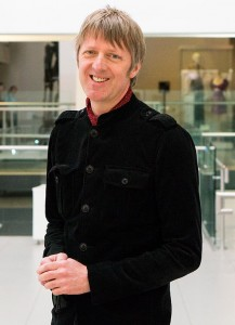 Irish author Glenn Patterson