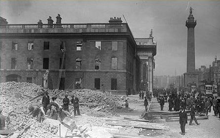 A Dublin Street After the Rising