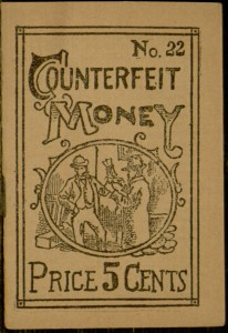 Front cover, Counterfeit money