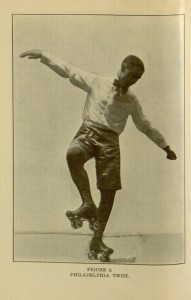 """Philadelphia Twist"", [30] p., Spalding's roller skating guide / edited by H.P. Burchell"