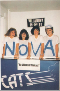 1987 Belle Air, Students, Villanova, School spirit