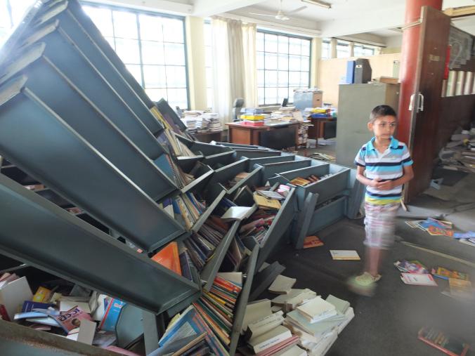CC shelves collapse
