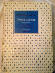 Julia Child cookbook