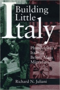 cover of book Building Little Italy
