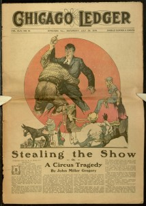 Front cover, Chicago Ledger, v. XLIV, no. 31, July 29, 1916