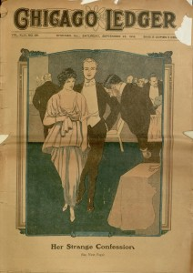 Front cover, Chicago Ledger, v. XLIV, no. 39, September 23, 1916