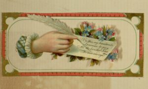[4] p. Card 4, top, Trade card scrapbook, [1883]