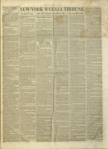 [1] p., New-York Weekly Tribune, v. XII, no. 580, October 23, 1852
